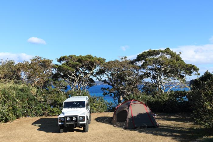 海キャンプ テント ドックドーム スノーピーク