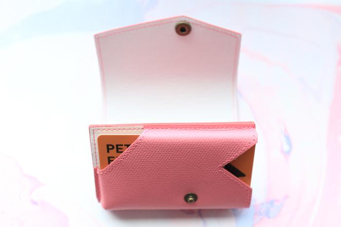 小さい財布 カード5枚