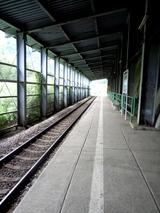 田子倉駅 ホーム