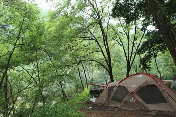 川キャンプ