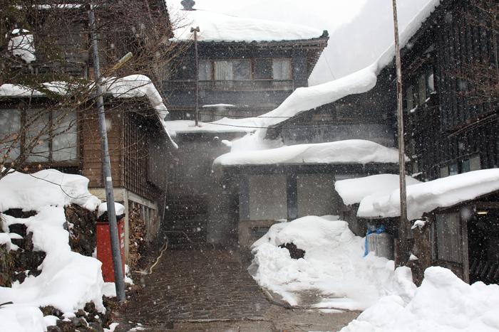 冬の北温泉