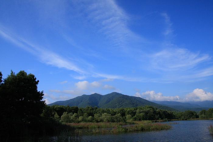 サイトから望む山