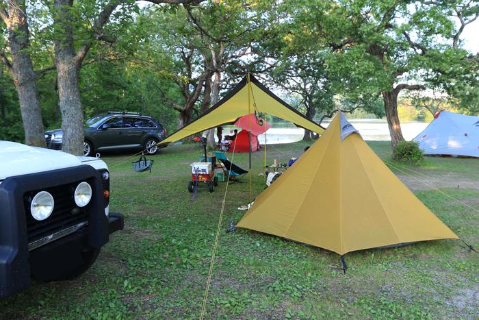 小野川湖キャンプ1 (1)