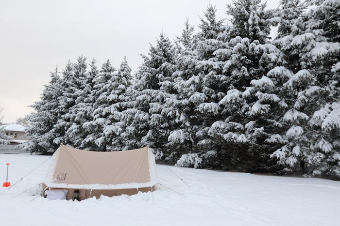 北軽井沢冬キャンプ
