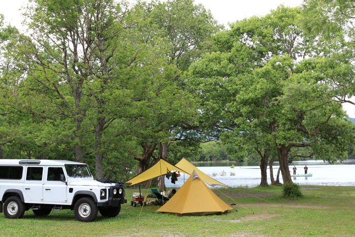 小野川湖キャンプ (1)