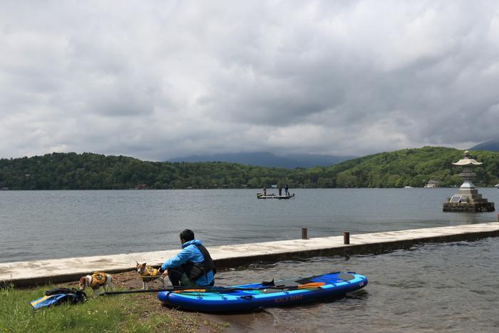 野尻湖SUP (2)