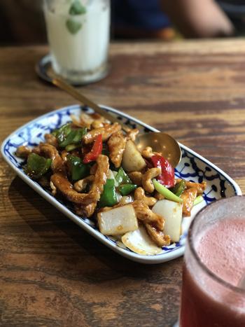 タイ料理鶏
