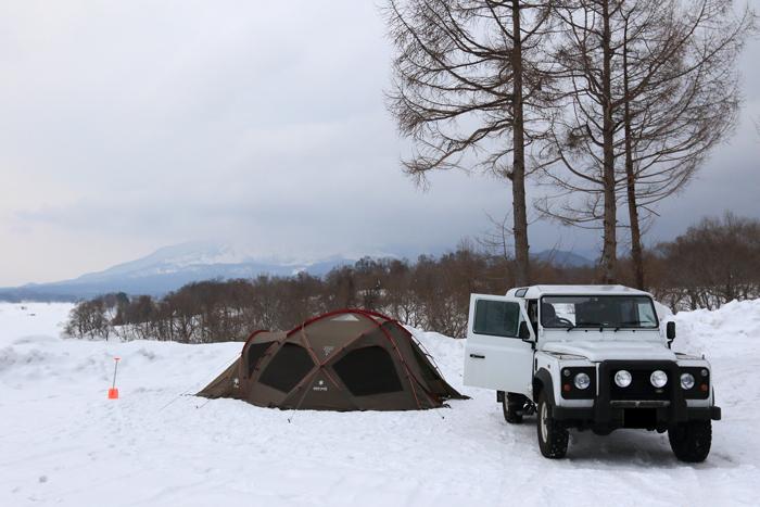 檜原湖冬キャンプ (1)
