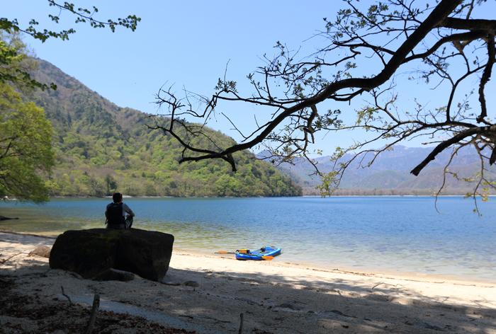 中禅寺湖SUP (2)