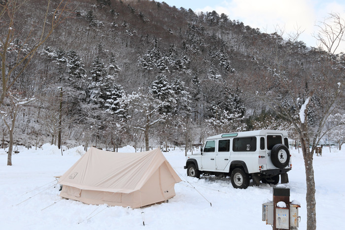 冬キャンプノルディスクユドゥン