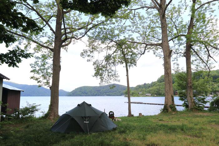 野尻湖キャンプ (1)