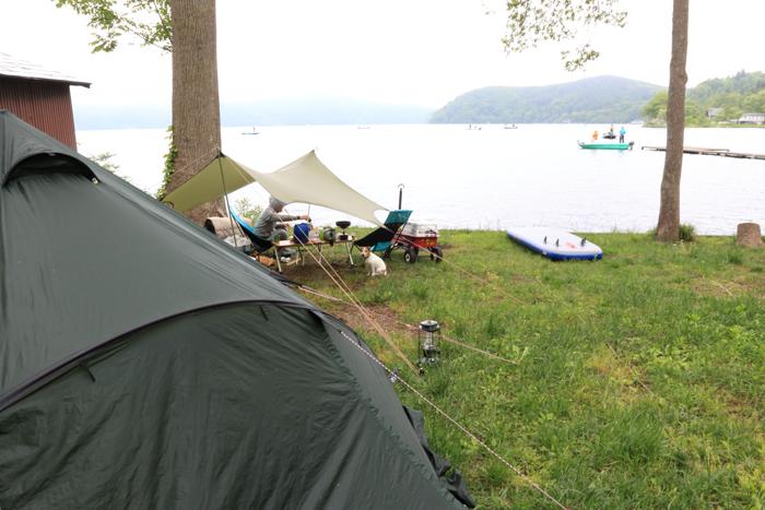 2 (2)野尻湖キャンプ