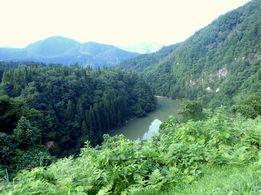 三島 只見川