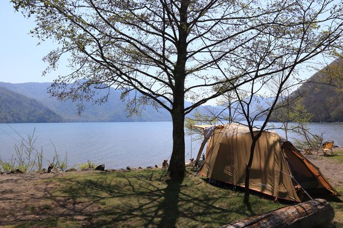 中禅寺湖キャンプ(2)