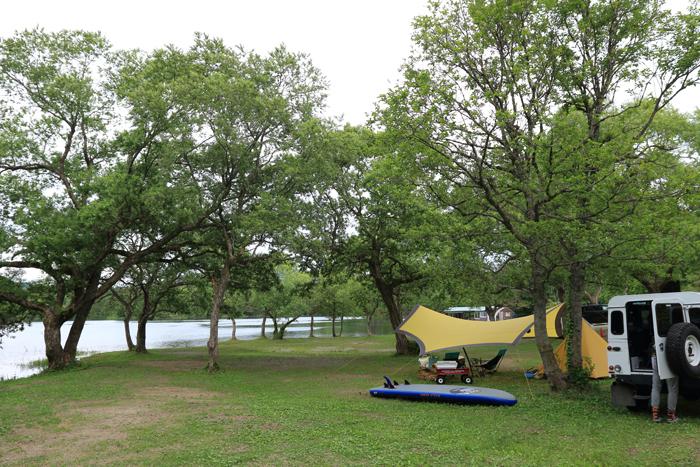 小野川湖キャンプ (3)