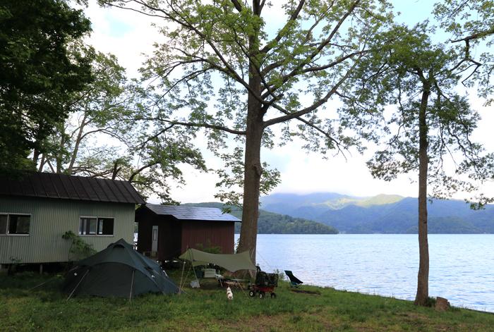 野尻湖キャンプ (2)