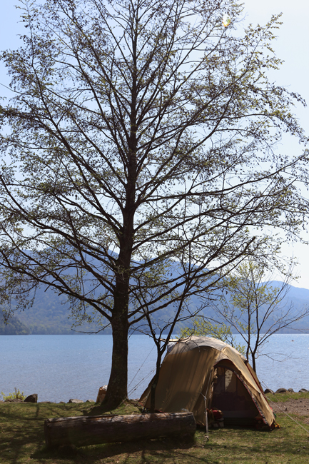 中禅寺湖キャンプ (4)