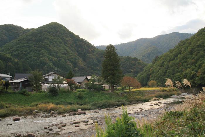 奥会津田舎の風景