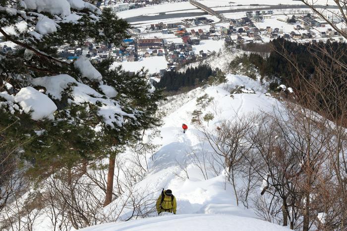 冬の坂戸山