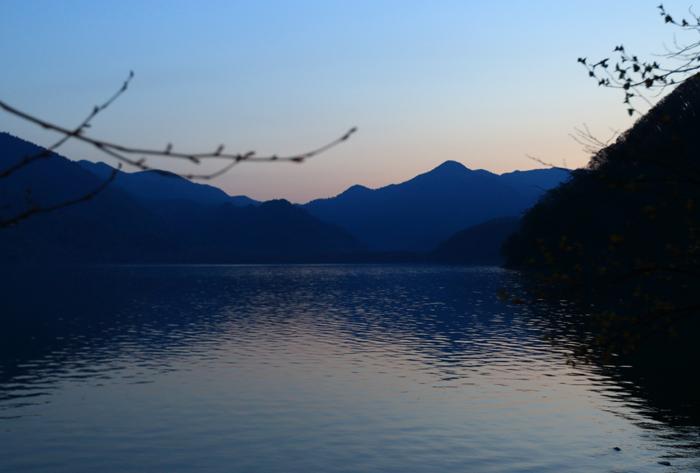 中禅寺湖夕方 (19)