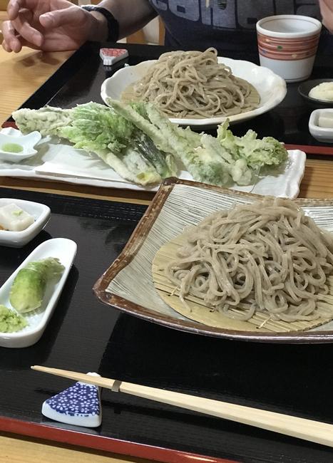 郡上八幡2-8蕎麦と山菜天ぷら