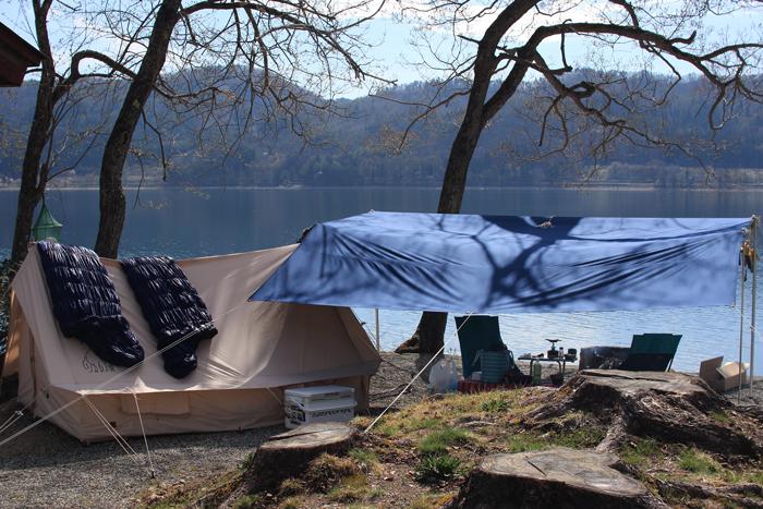 青木湖キャンプ