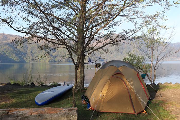 中禅寺湖キャンプ(1)