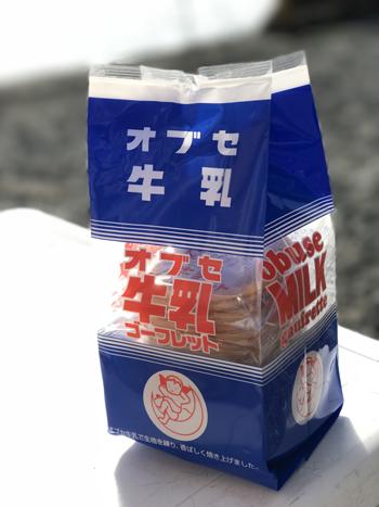 オブセ牛乳ゴーフレット (1)