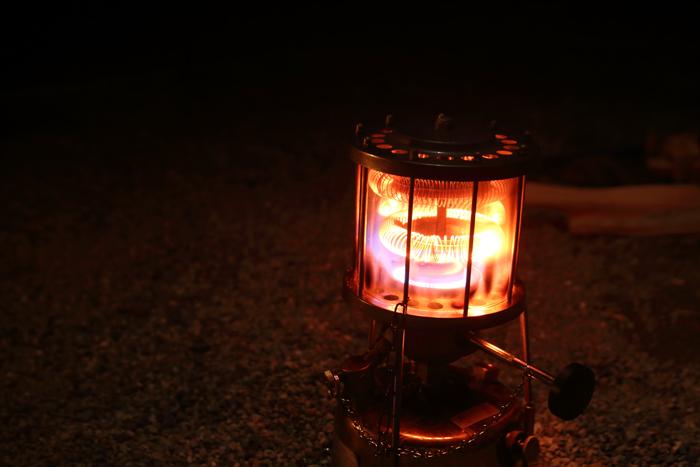 夕暮れの猪苗代湖キャンプ (6)