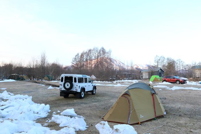 3月末キャンプ