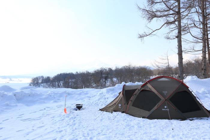 檜原湖冬キャンプの朝 (9)