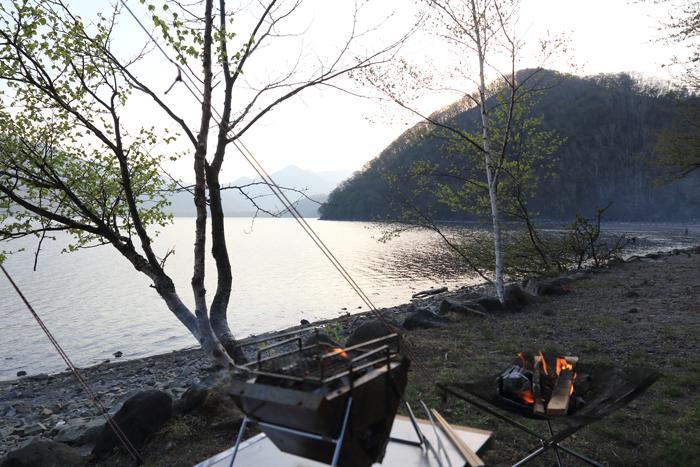 キャンプ夕方ごはん (18)