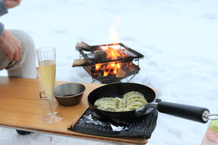 檜原湖冬キャンプ (2)