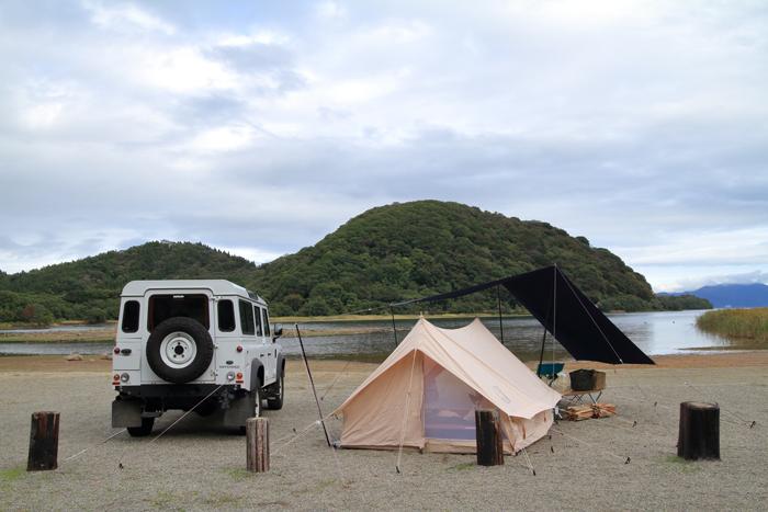 猪苗代湖キャンプ1 (2)
