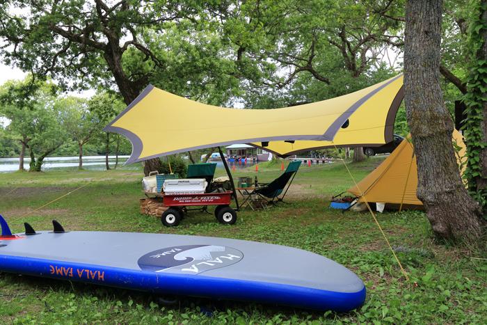 小野川湖キャンプ (2)