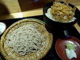 お蕎麦と天丼