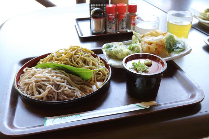 昼ご飯そば (1)