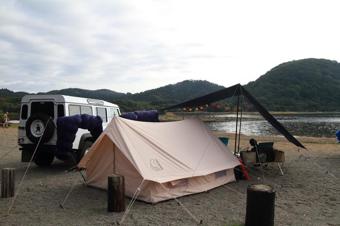 猪苗代SUPキャンプ朝 (1)