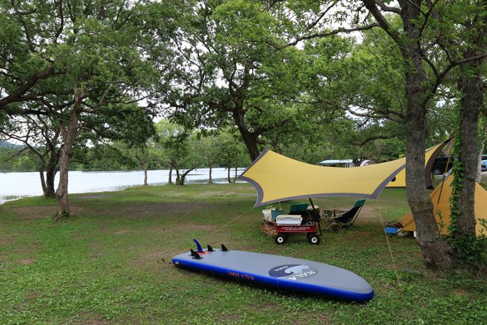 小野川湖キャンプ (4)