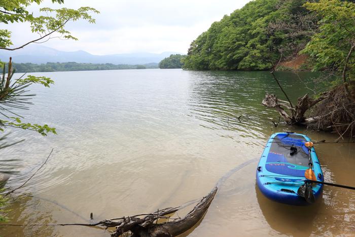 小野川湖SUP