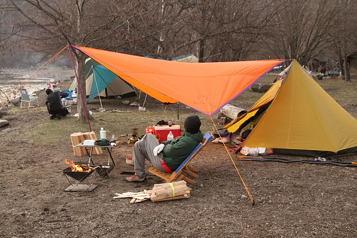 カヤックキャンプ