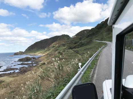 海沿いドライブ