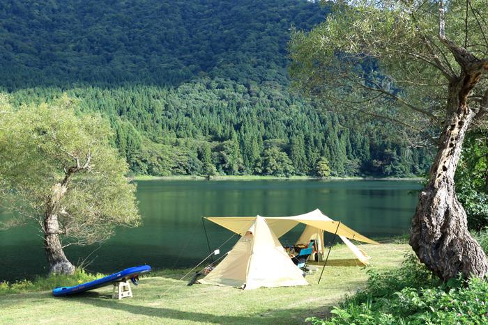 ほとりキャンプ (2)