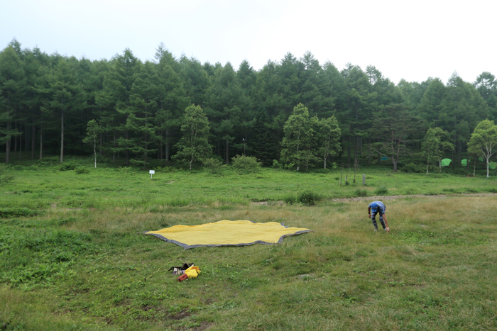 高原キャンプ (1)
