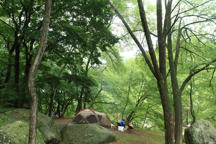お盆キャンプ