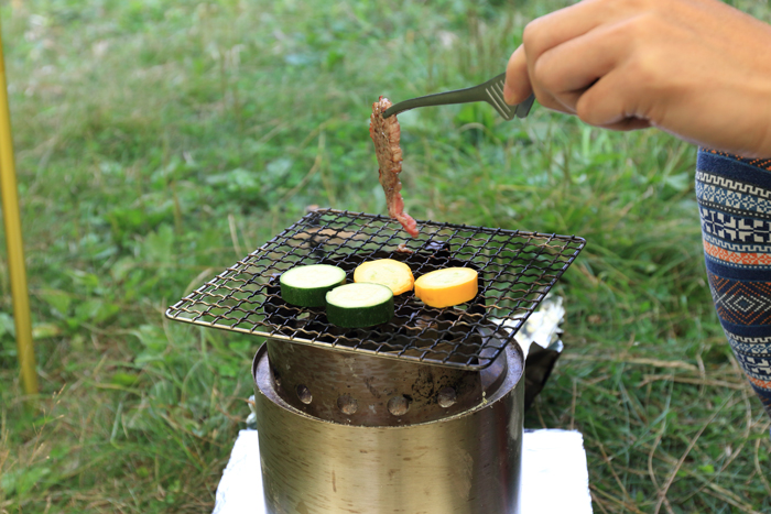 4ソロストーブ料理